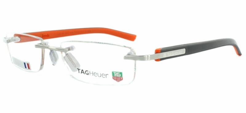 Tag Heuer Eyeglass Frame Repair : Tag Heuer 8107 Eyeglasses