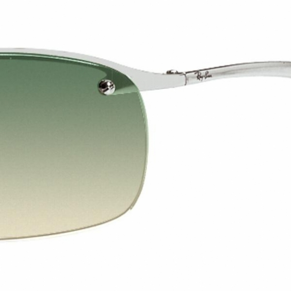 Black And Bluegradient: Ray Ban 3183 Sunglasses