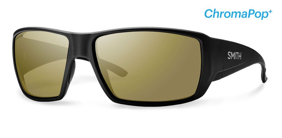 Smith Guide/'s Choice ChromaPop Flecked Green//Bronze Mirror Sunglasses DISCOUNT