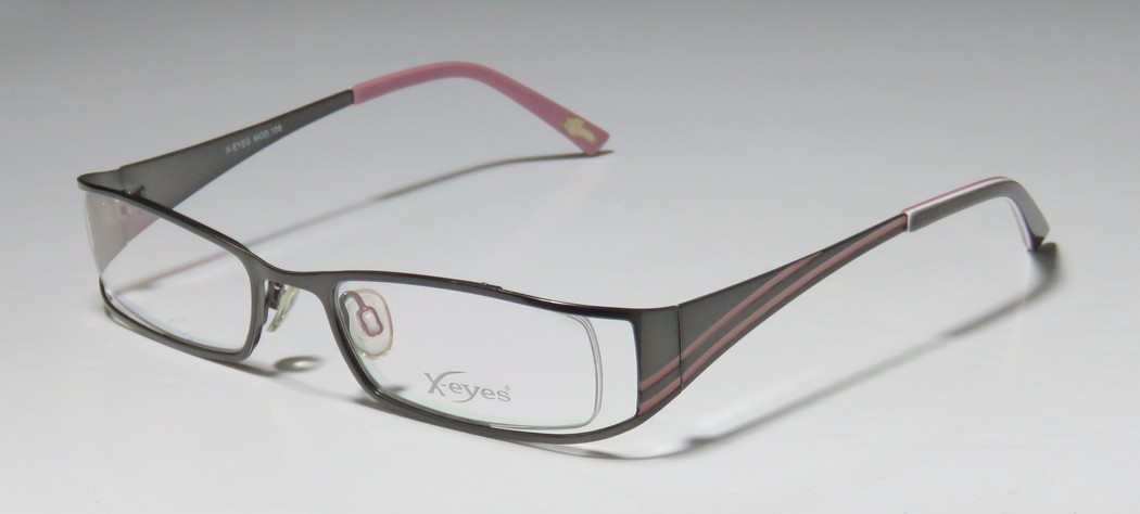 CONTINENTAL EYEWEAR X-EYES 108 PEWTER