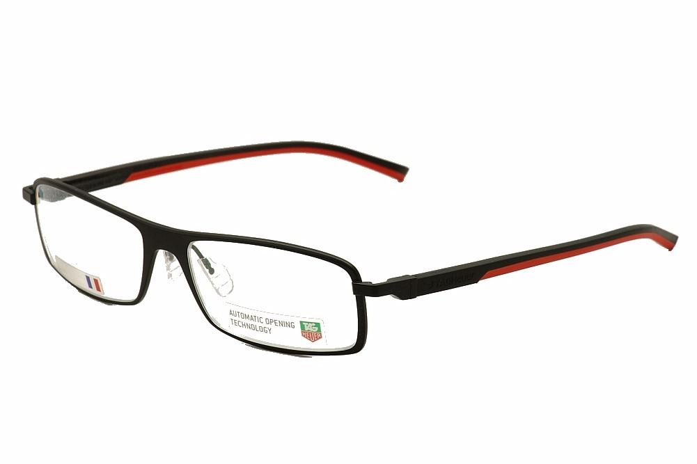 Tag Heuer Eyeglass Frame Repair : Tag Heuer 0801 Eyeglasses