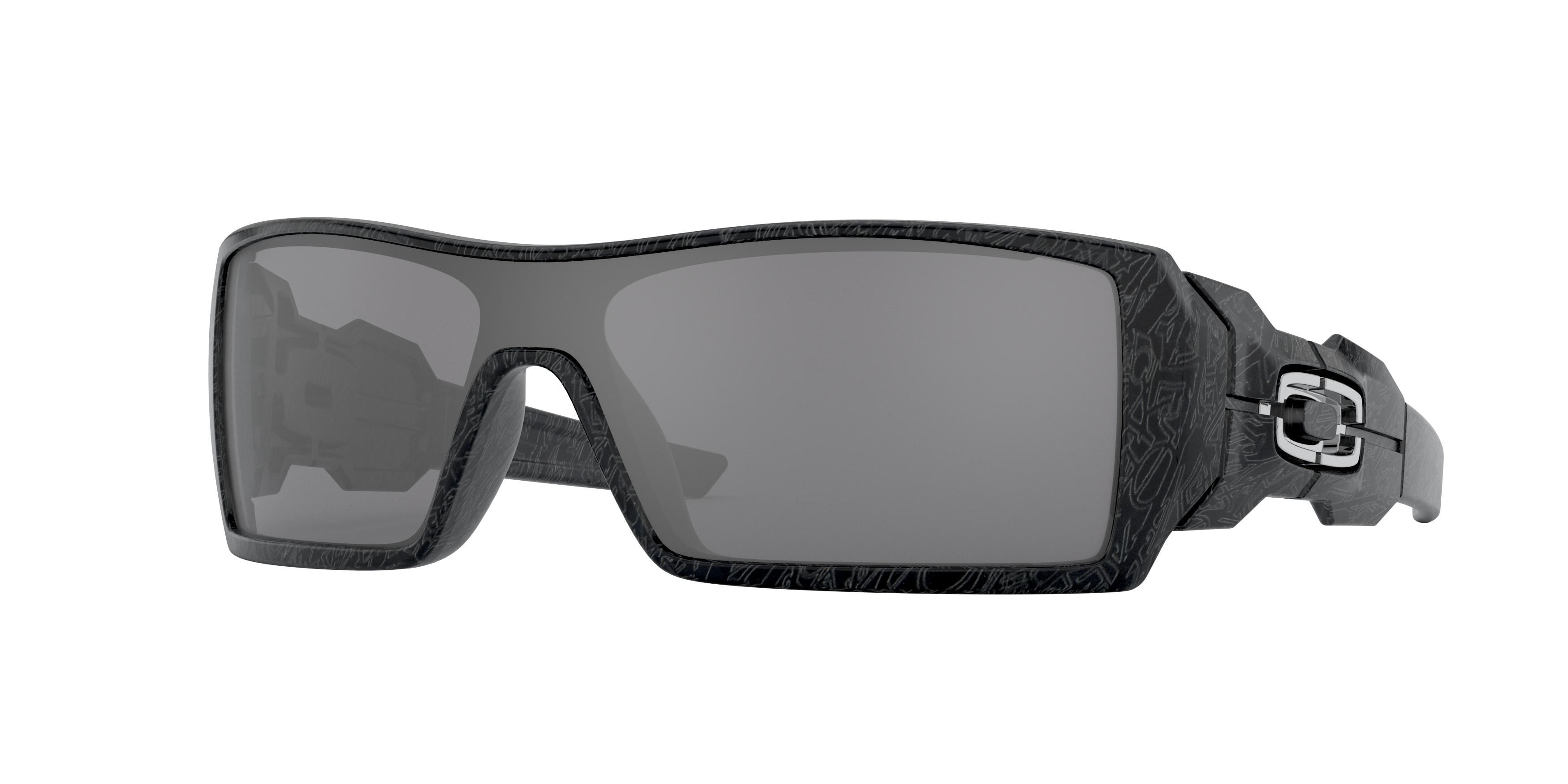 oakley oil rig sunglasses polished black  oakley oil rig update 24058
