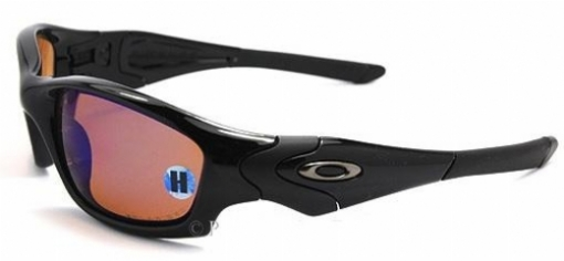 f816146f55 Oakley Straight Jacket Polished Black L Deep Blue Iridium Polarized ...